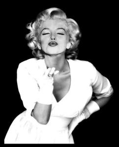 mujer real Marily Monroe