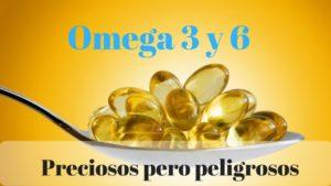 acidos grasos omega 3 y 6