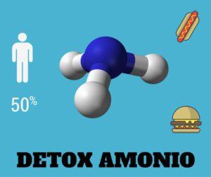 como detoxificar el amonio del cuerpo