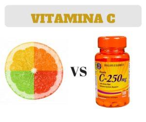 acido ascorbico vs vitamina c